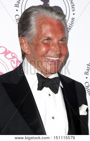 LOS ANGELES - OCT 8:  George Hamilton at the 2016 Carousel Of Hope Ball at the Beverly Hilton Hotel on October 8, 2016 in Beverly Hills, CA