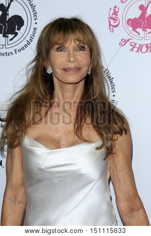 LOS ANGELES - OCT 8:  Ann Turkel at the 2016 Carousel Of Hope Ball at the Beverly Hilton Hotel on October 8, 2016 in Beverly Hills, CA