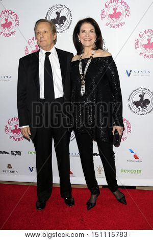 LOS ANGELES - OCT 8:  William Friedkin, Sherry Lansing at the 2016 Carousel Of Hope Ball at the Beverly Hilton Hotel on October 8, 2016 in Beverly Hills, CA