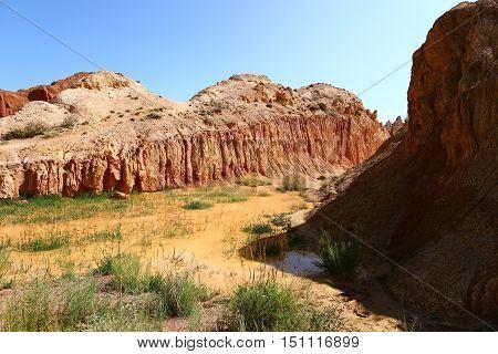 nature, landscape, landscape, mountain clay, mountain, crane mountain, clay, clay, tale, Kyrgyzstan