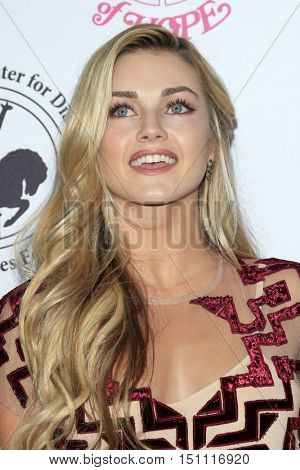 LOS ANGELES - OCT 8:  Lindsay Arnold at the 2016 Carousel Of Hope Ball at the Beverly Hilton Hotel on October 8, 2016 in Beverly Hills, CA