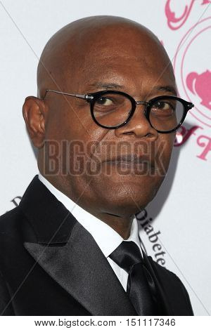 LOS ANGELES - OCT 8:  Samuel L. Jackson at the 2016 Carousel Of Hope Ball at the Beverly Hilton Hotel on October 8, 2016 in Beverly Hills, CA