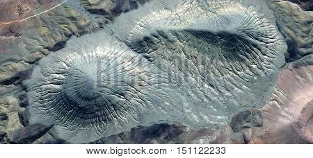 Abyssal mirage of fossil animals, pastel turquoise color, deep ocean African desert, photography from the deserts of Africa from the air, Munimara Collection Abstract Surrealism,