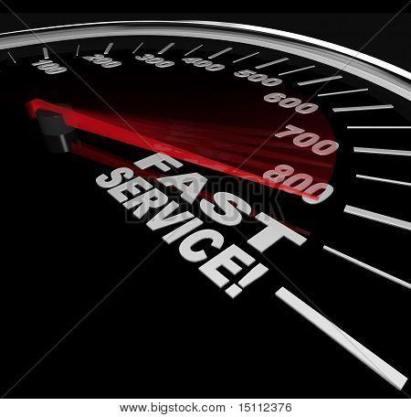 Servicio rápido