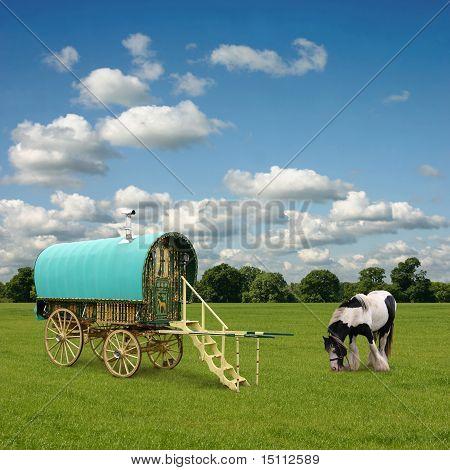 Zigeunerwagen, Caravan