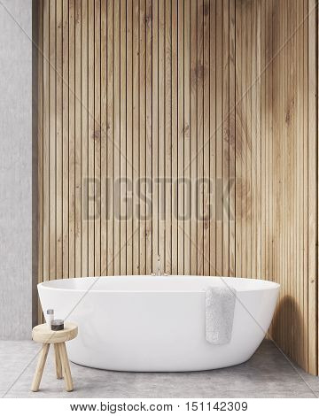 Wooden Walls Bathroom