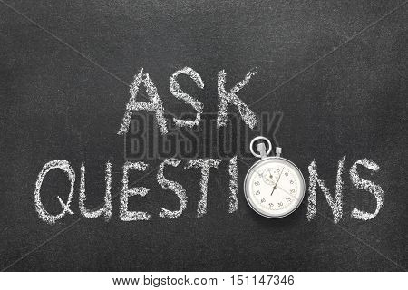Ask Questions Watch
