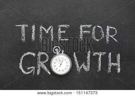 Time For Growth Watch