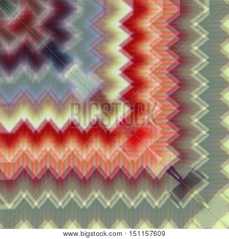 Abstract image, colorful graphics, tapestry, bright colors,