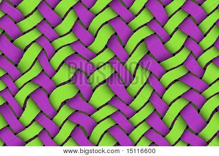 Verde - sarja violeta fundo