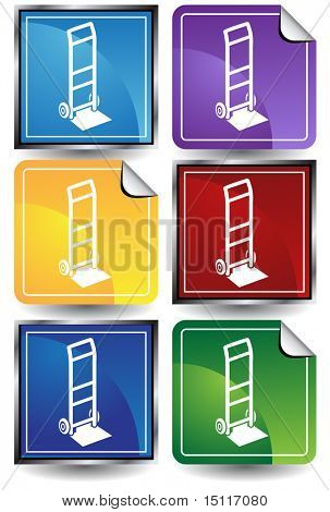 hand truck icon color