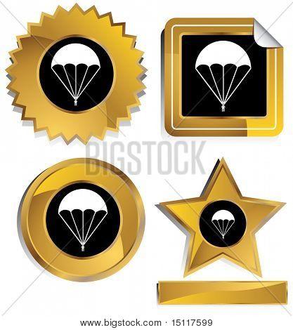 parachute icon frame
