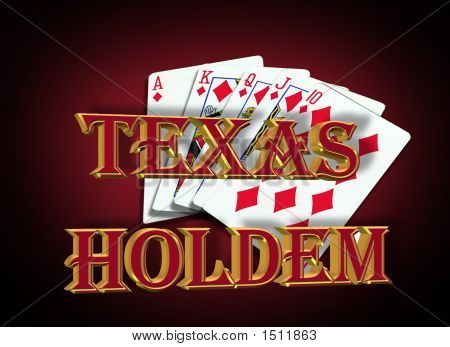 Texas Holdem Poker Sign