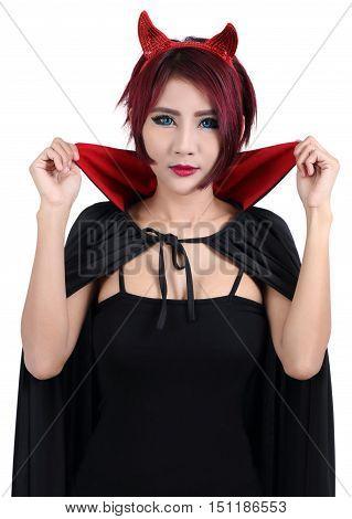 Woman And Halloween
