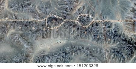glasses Desert,Allegory myopic monster bespectacled photography abstract landscapes of deserts of Africa from the air, collection of Abstract Naturalism Munimara fantasy forms of stone in the desert