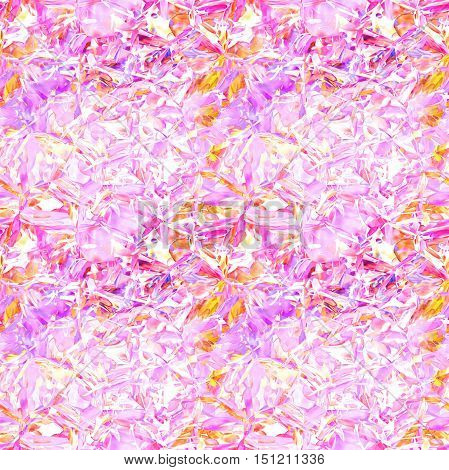 Pink tender mosaic pattern as abstract background.Digitally generated image.
