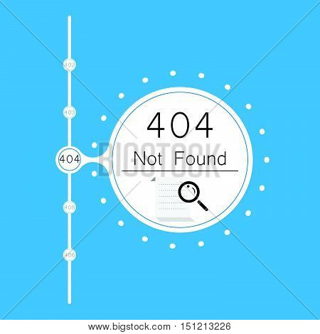 Vectors Abstract background 404 connection error signs symbols