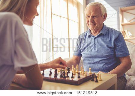 Volunteer And Old People