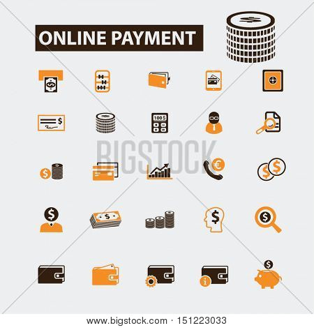 online payment icons