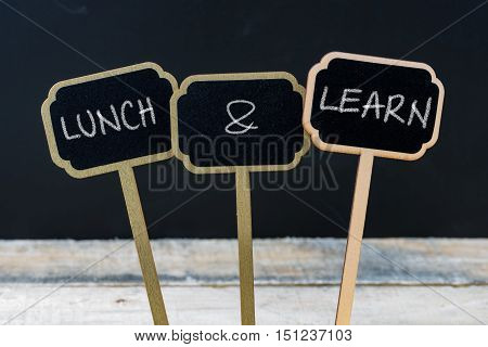 Business Message Lunch And Learn