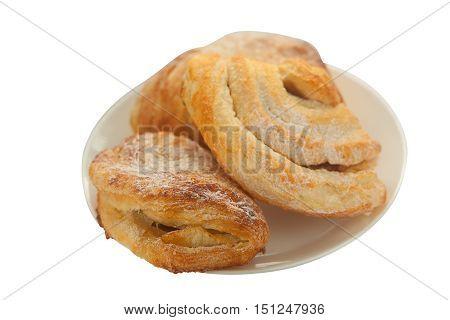 Tasty Muffin On White Background
