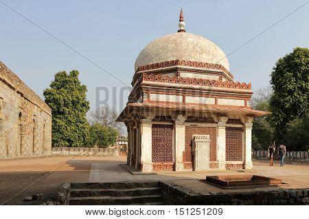 Qutub Minar Tower in New Delhi India