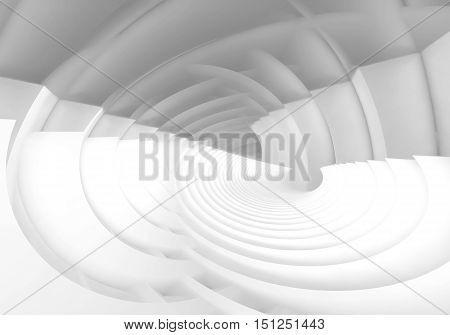 Intersected White Bent Vortex Structures