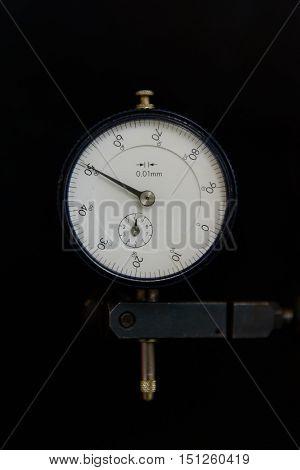 Measurement Tool is Dial Gauge in construction industry.