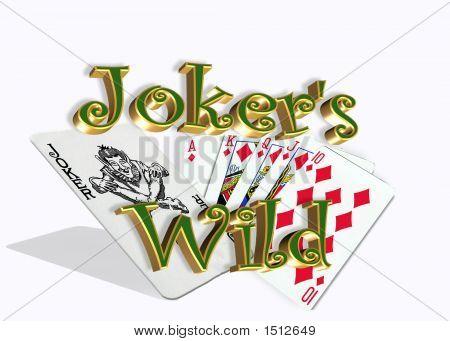 Jokers Wild Over White