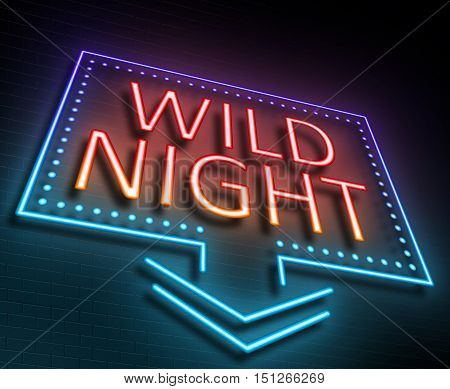 Wild Night Concept.