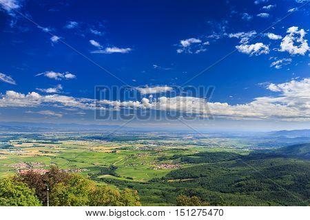 Alsace France Landscape