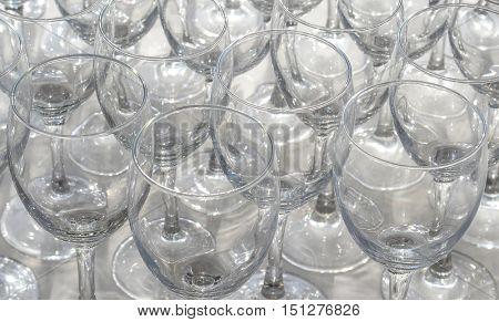 crystal stem wares