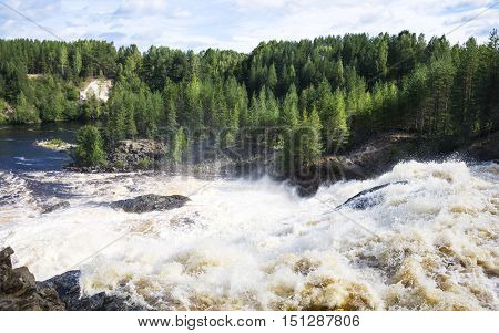 Karelia Russia beauty of the North landscape nature in summer