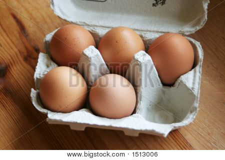 Box Of 5 Eggs