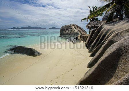Anse Source d'Argent beach La Digue island Seyshelles