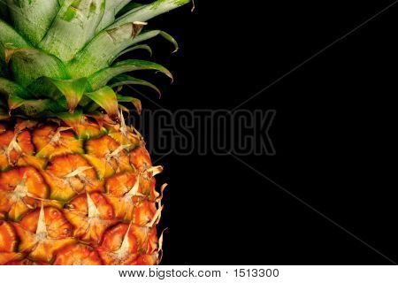Pineapple On Black