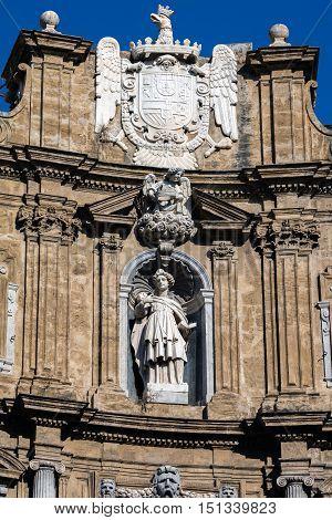 Statue Of The Virgin Martyr Saint Agatha Of Sicily