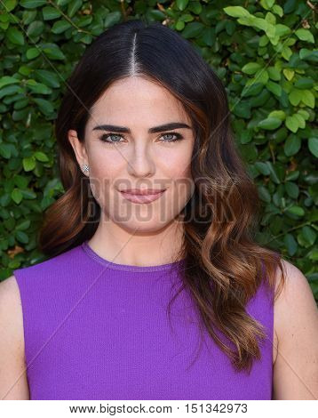 LOS ANGELES - SEP 25:  Karla Souza arrives to the The Rape Foundation Annual Brunch on September 25, 2016 in Hollywood, CA