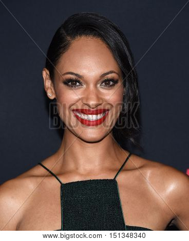 LOS ANGELES - OCT 10:  Cynthia Addai-Robinson arrives to