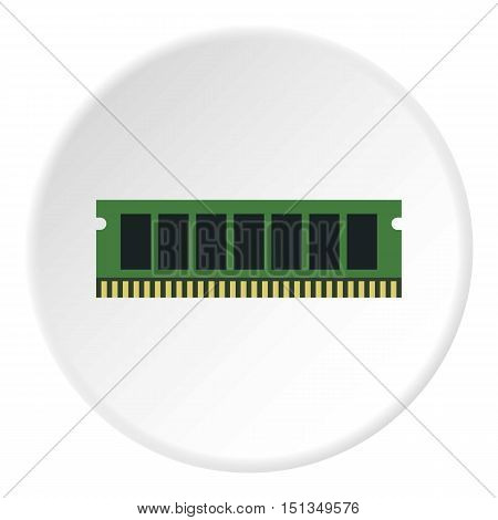 RAM icon. Flat illustration of RAM vector icon for web