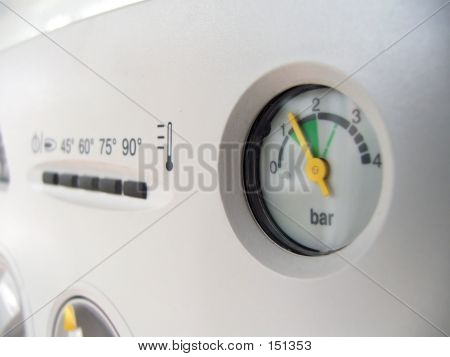 Pressure Gauge Indicator