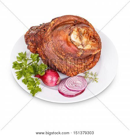 Smoked Pork Trotter