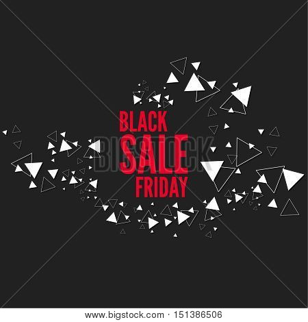 Black Friday  final, big sale. Total discounts. Markdown cheap. Template for Banner or poster, pricetag, tag. Black Friday sale inscription design. Vector illustration