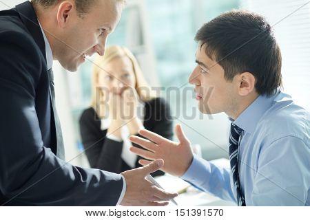 Disagreed employee
