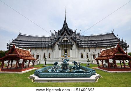 Sanphet Prasat Palace In Ancient City, Bangkok