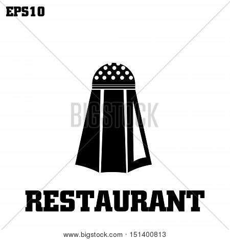 restaurant pepper logotype vector illustration of logo graphics pepper on a white background with the inscription