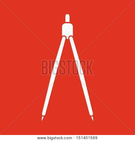 The divider icon. Divider symbol. Flat Vector illustration
