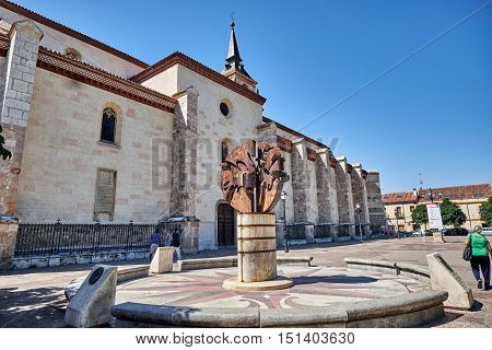 Landscapes, streets, monuments, houses  and old buildings of the town of Alcala de Henares, Spain