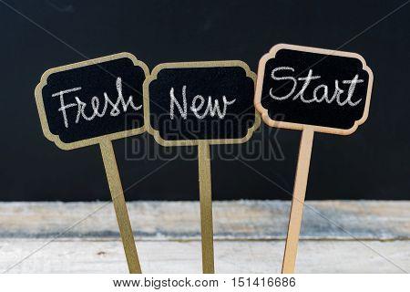 Business Message Fresh New Start