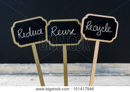 Business Message Reduce, Reuse, Recycle